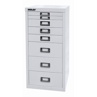 29er 8 Drawer Filing Cabinet By Bisley