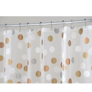 beige and gray shower curtain. Abbey Dot Shower Curtain Polka Curtains You ll Love  Wayfair