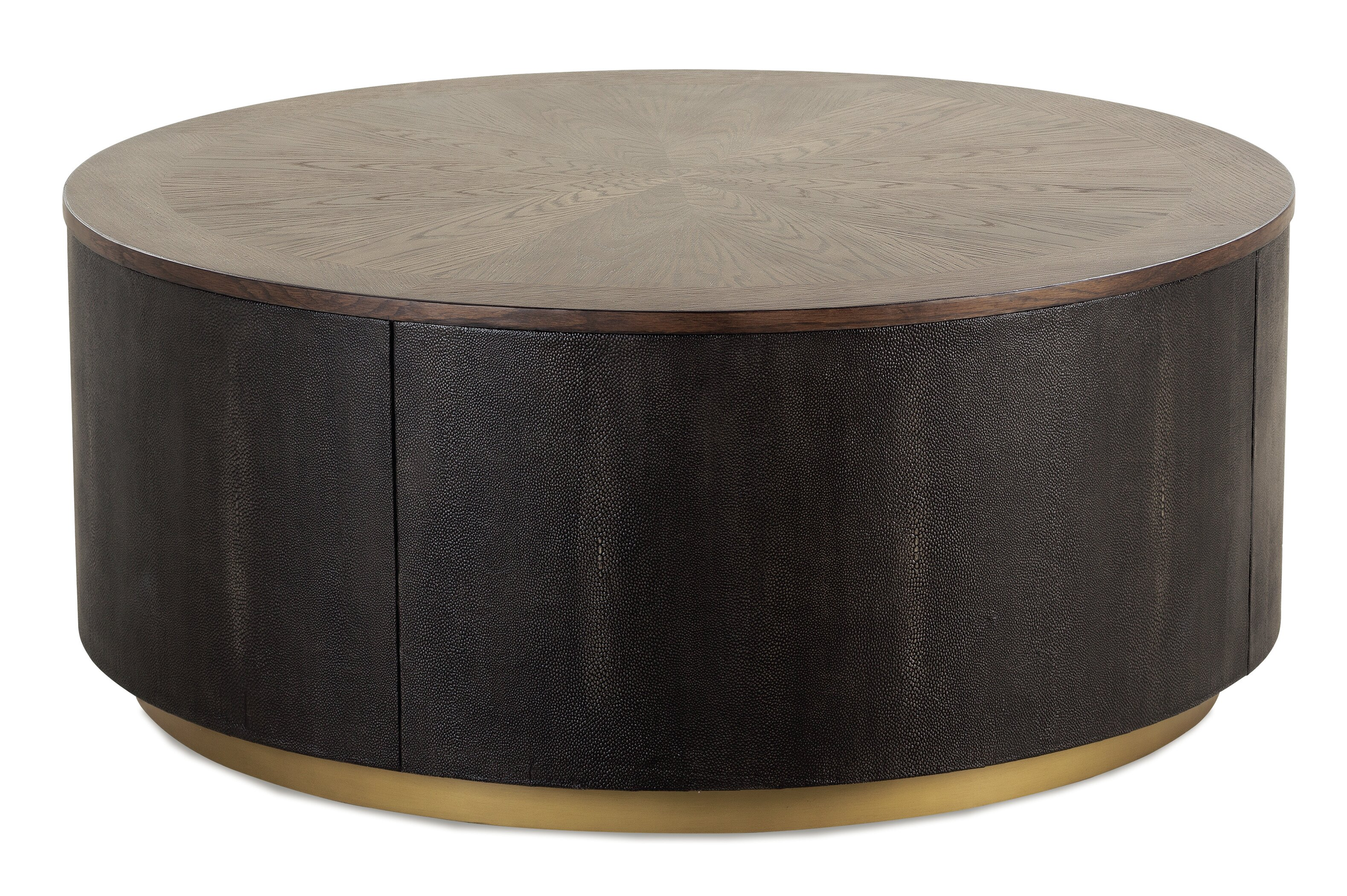 Brass Drum Coffee Tables You Ll Love In 2021 Wayfair