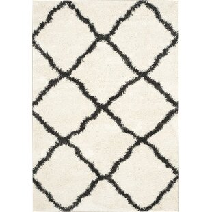 Read Reviews Charmain Ivory/Charcoal Area Rug By Willa Arlo Interiors