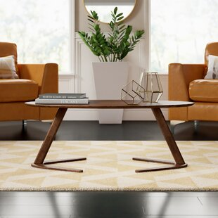 Cadwall Abstract Coffee Table By Mercury Row