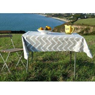 Chevron 100% Cotton Tablecloth By Fleur De Soleil