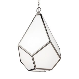 Brayden Studio Bellino 1-Light Geometric Pendant