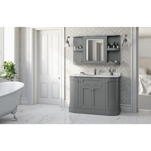Noelle 117cm X 70cm Surface Mount Mirror Cabinet By August Grove