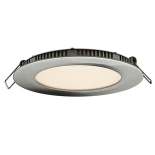 DALS Lighting Round Panel LED Recessed Lighting Kit