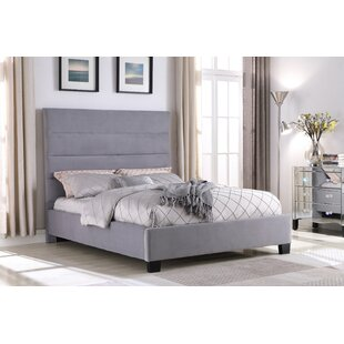 Ledezma Upholstered Platform Bed by Latitude Run