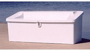 29 H x 72 W x 29 D Plastic Storage Bench by Better Way Products