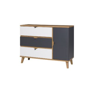 Faye 3 Drawer Combi Chest By Isabelline
