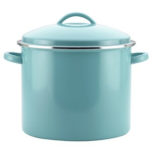 16 qt. Enamel on Steel Covered Stock Pot