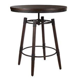 Bingaman Adjustable Bar Table Williston Forge