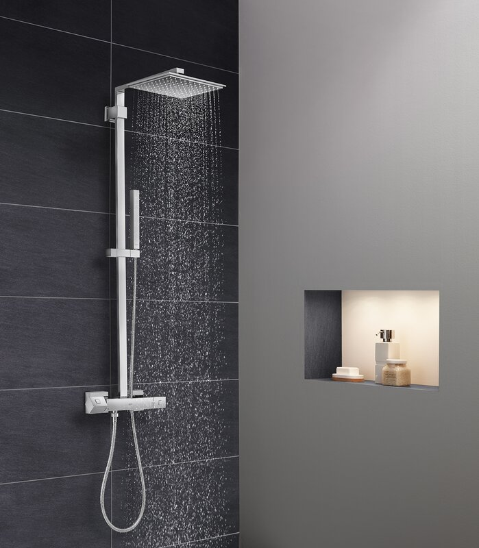 Euphoria Cube Complete Shower System
