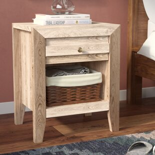 Riddleville 1 Drawer Nightstand by Greyleigh