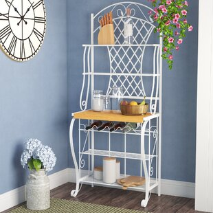 Noha Trellis Baker's Rack by Lark Manor