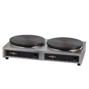 Commercial Gas Double Crepe Maker