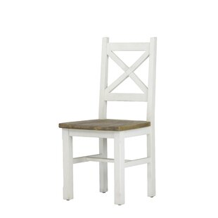 Holsinger Solid Wood Side Chair (Set of 2) August Grove