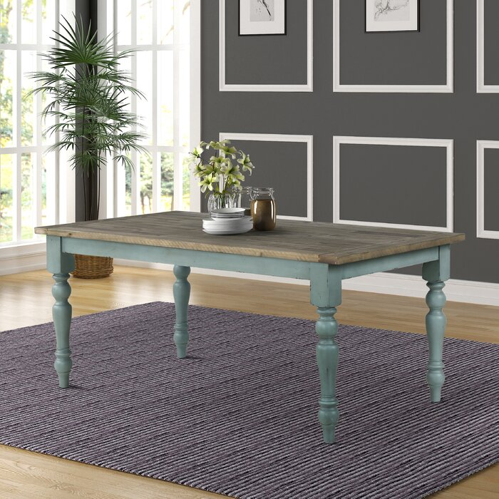 Cierra Two Tone Dining Table