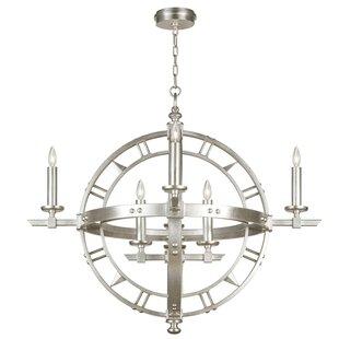 Fine Art Lamps Liaison 8-Light Geometric Chandelier