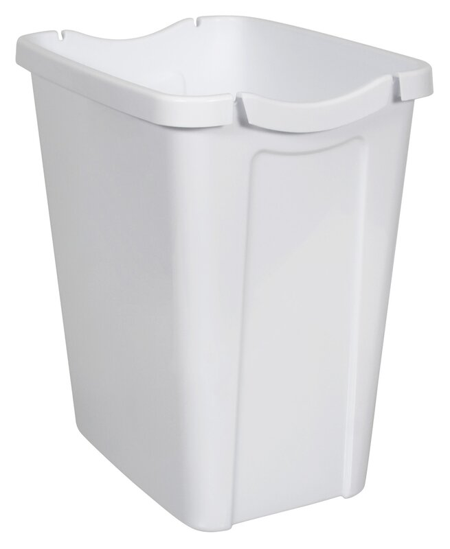 Waste Basket hefty recycle-a-bag 3.5 gallon waste basket & reviews | wayfair