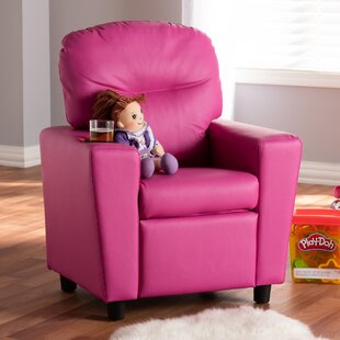 Compare & Buy Clemmer Kids Faux Leather Recliner ByZoomie Kids