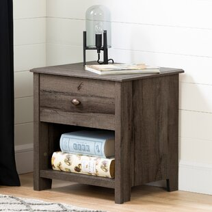 Clearance Vinbardi 1 Drawer Nightstand by South Shore Reviews (2019) & Buyer's Guide