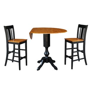 Boyette 3 Piece Pub Table Set DarHome Co