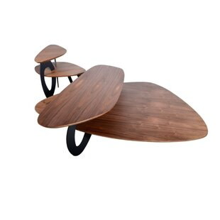 Gerry Contemporary Wooden Coffee Table