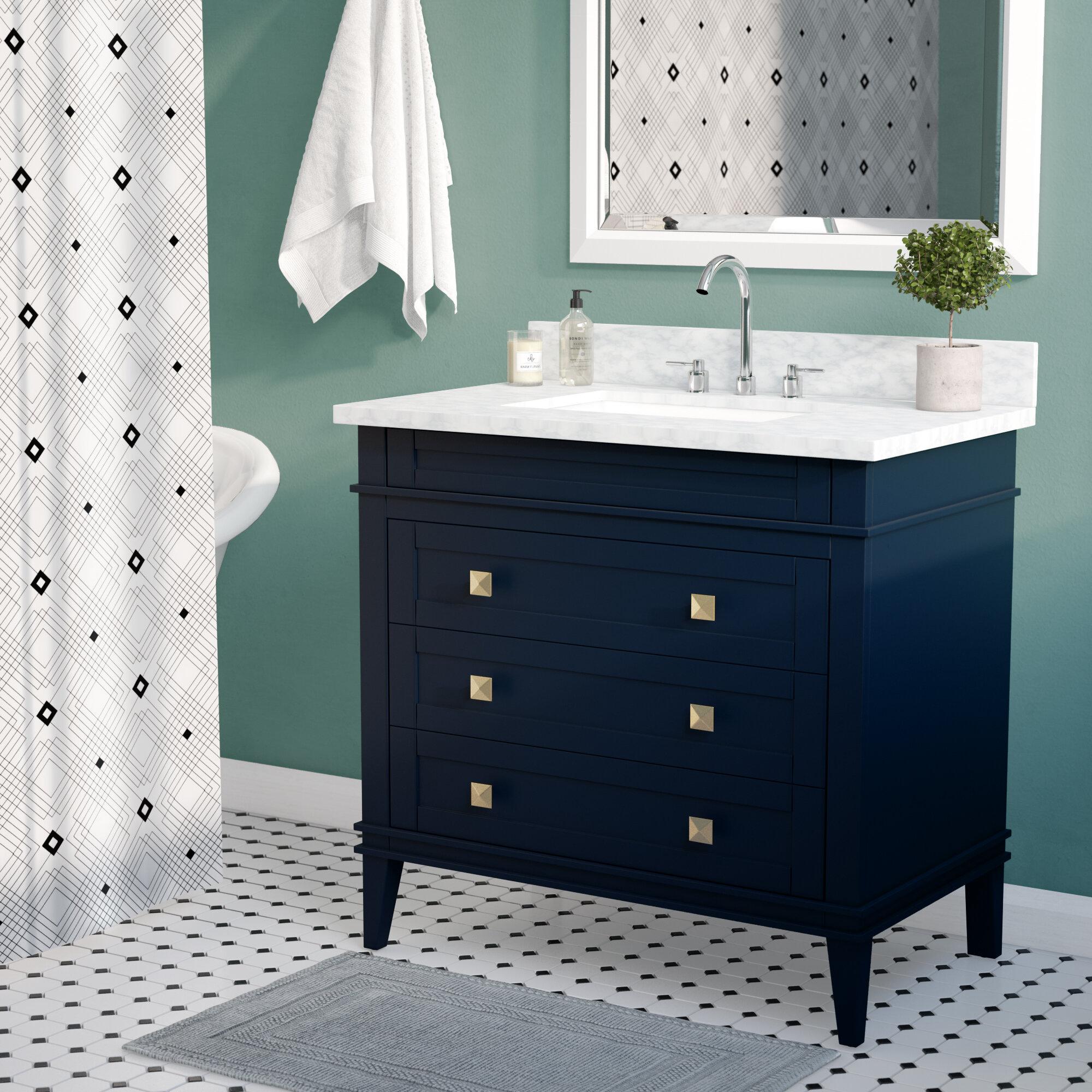 Wrought Studio Cy 36 Single Bathroom Vanity Set Reviews Wayfair