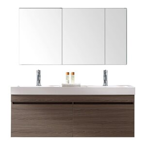 double bathroom vanity. Zuri 55  Double Bathroom Vanity Set Modern Vanities AllModern
