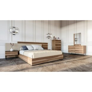 Mraz Platform 5 Piece Bedroom Set