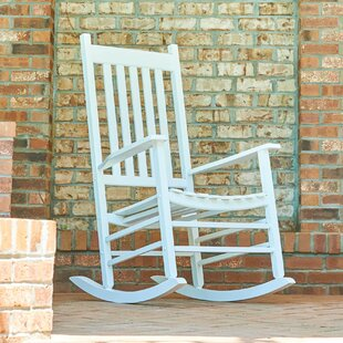 white patio rocking chairs gliders you ll love wayfair