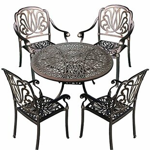 Royal Isle 5 Piece Dining Set