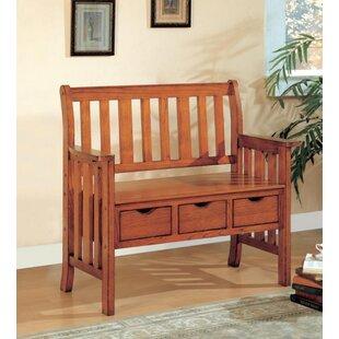 Candide Wood Storage Bench by Rosalind Wheeler
