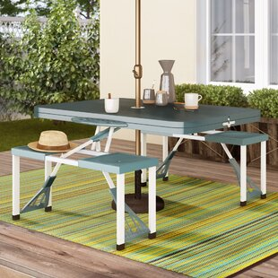 Seavey Folding Aluminium Camping Table By Sol 72 Outdoor