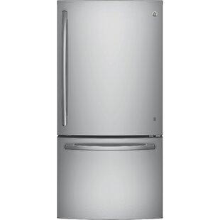 24.8 cu. ft. Energy Star® Bottom Freezer Refrigerator by GE Appliances