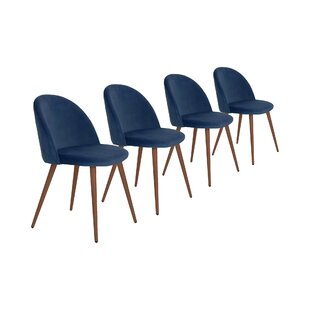 Pruitt Upholstered Dining Chair (Set Of 4) By Mikado Living