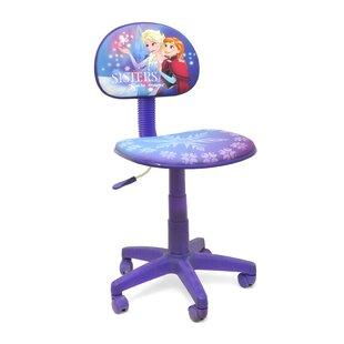 Frozen Rolling Task Kids Desk Chair