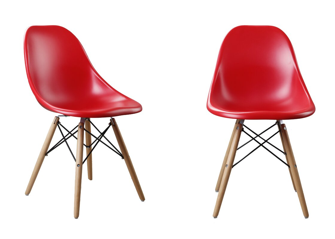 Buy Luxury Modern Designer Plastic Dinning Side Chair Set