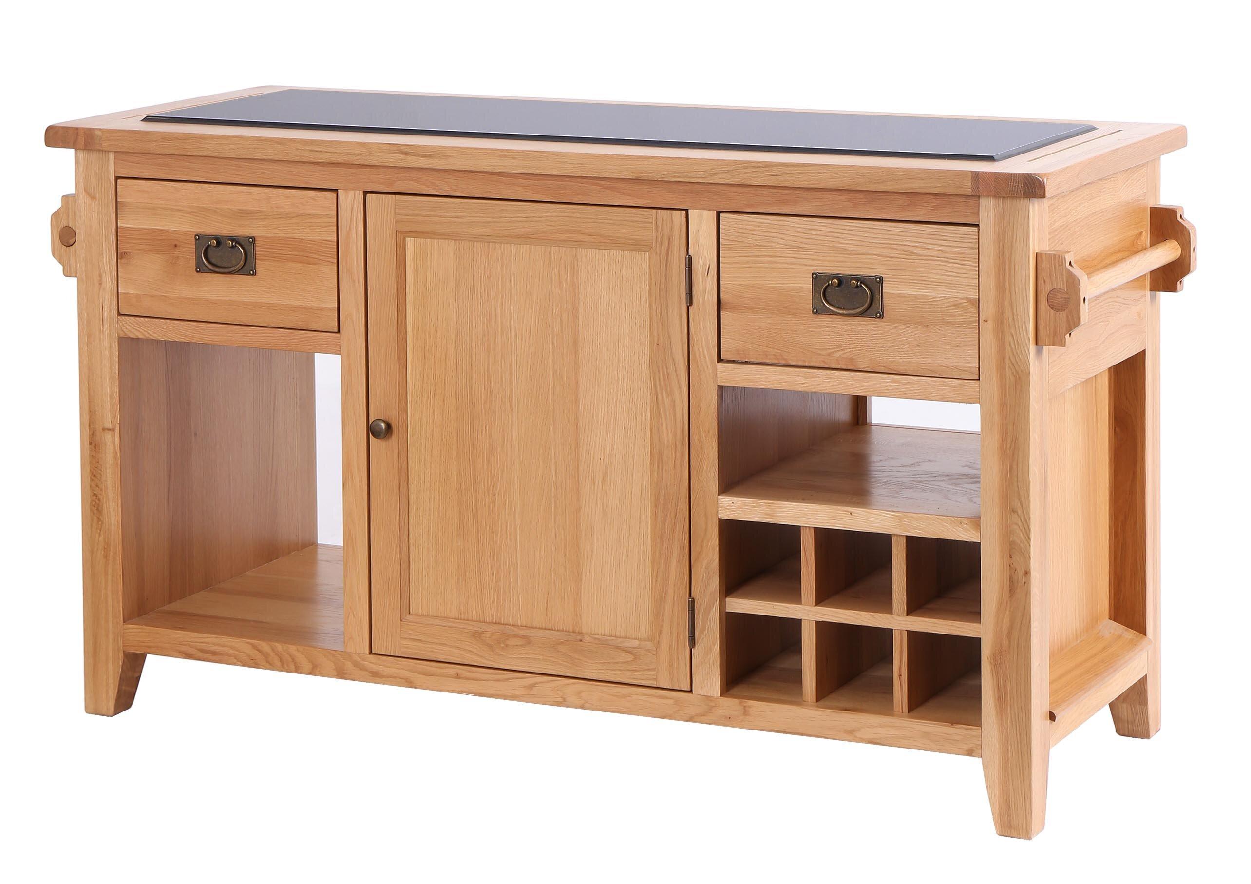 AlpenHome Kücheninsel Millais Premium mit Granitplatte & Bewertungen ...