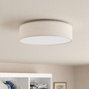 """Benno 1 - Light 15"""" LED Flush Mount"""