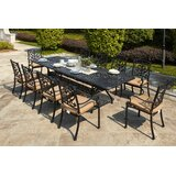 Batista 11 Piece Dining Set with Cushions
