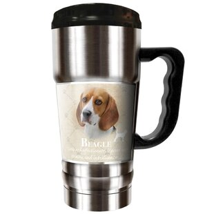 Howard Robinson's Beagle 20 oz. Stainless Steel Travel Tumbler