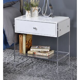 Fox Hill Trading Modern End Table