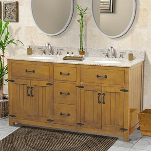 Reviews Countryside 60 Double Bathroom Vanity Set By DECOLAV