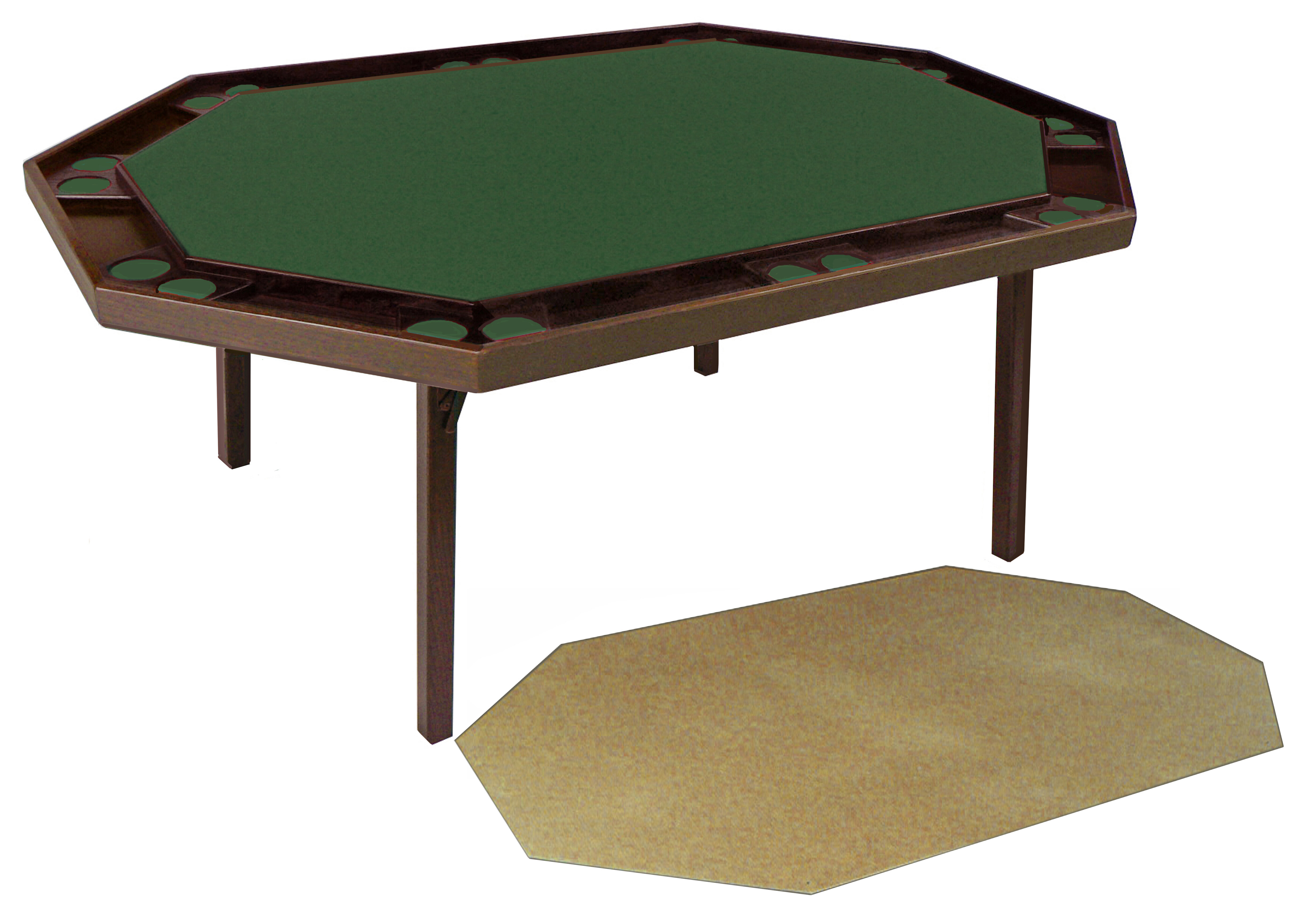 """Kestell Furniture 2000 Piece 72"""" Maple Deluxe Puzzle Table 