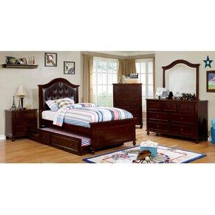 Loveland Full Panel 4 Piece Bedroom Set by Harriet Bee