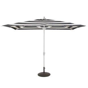 Centers 10' x 6.5' Rectangular Market Sunbrella Umbrella by Longshore Tides