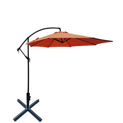 Basey 10 Cantilever Umbrella by Canora Grey No Copoun