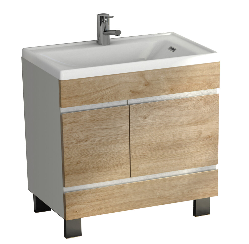 Eviva Petite Plus 24 Single Bathroom Vanity Perigold