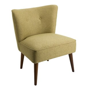 Bordelon Fabric Upholstered Wooden Side Chair by Corrigan Studio