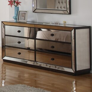 6 Drawer Standard Dresser/Chest